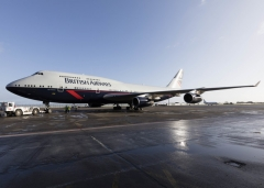 British Airways Iconic Liveried 747 Retires to Dunsfold Aerodrome
