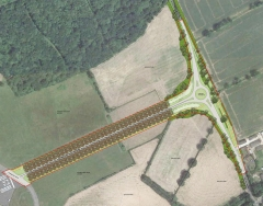 Planning Consent Granted for New Dunsfold Park Access Road